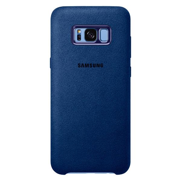 Чехол для сотового телефона Samsung Galaxy S8+ Alcantara Blue (EF-XG955ALEGRU) клип кейс samsung silicone cover для galaxy s8 зеленый