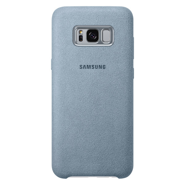 Чехол для сотового телефона Samsung Galaxy S8+ Alcantara Mint (EF-XG955AMEGRU) клип кейс samsung alcantara cover ef xg955a для galaxy s8 темно серый