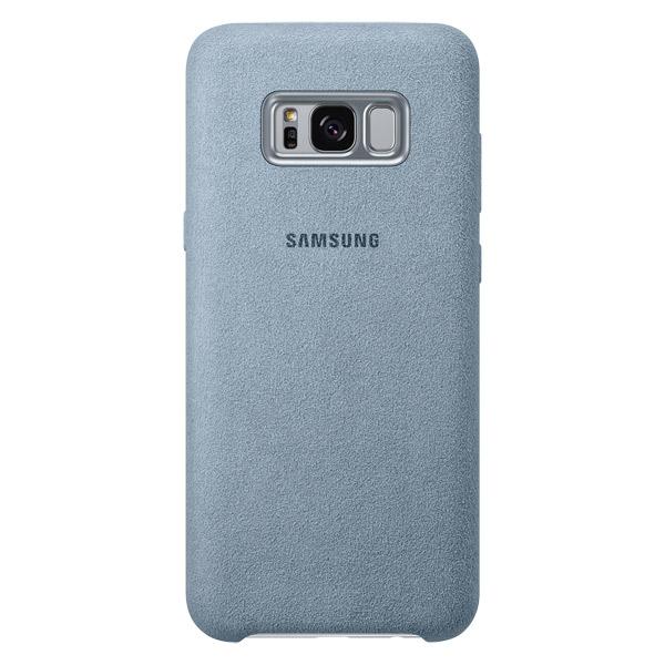 Чехол для сотового телефона Samsung Galaxy S8+ Alcantara Mint (EF-XG955AMEGRU) чехол для смартфона samsung galaxy note 8 alcantara cover great черный ef xn950abegru ef xn950abegru