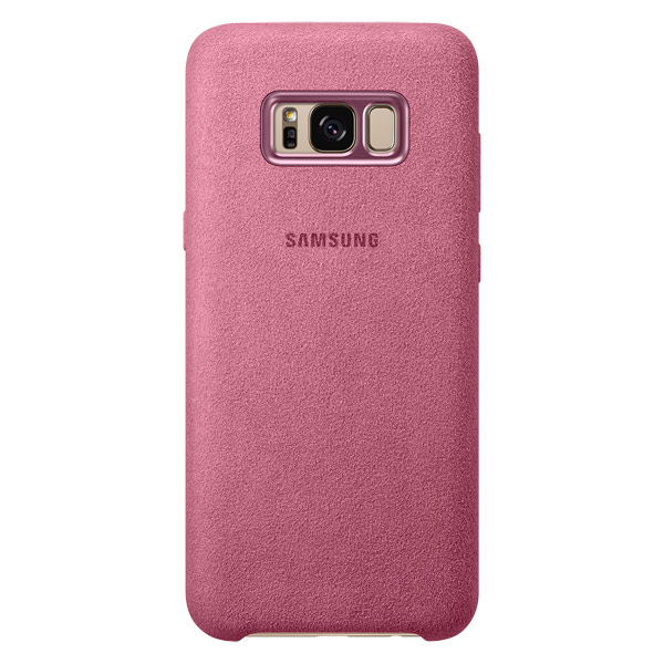 Чехол для сотового телефона Samsung Galaxy S8+ Alcantara Pink (EF-XG955APEGRU)