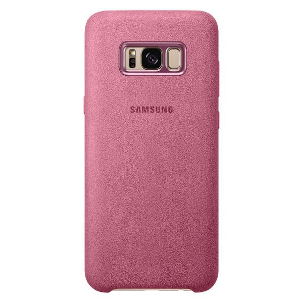 Чехол для сотового телефона Samsung Galaxy S8+ Alcantara Pink (EF-XG955APEGRU) galaxy s8 s 8 gigabaitnym ozy i 256 gigabaitnym nakopitelem ne bydet