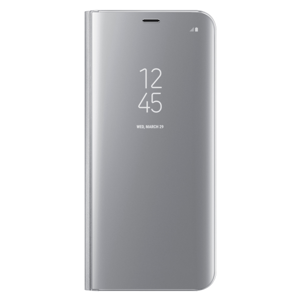 Чехол для сотового телефона Samsung S8+ Clear View Standing Silver (EF-ZG955CSEGRU) samsung ef zn950 clear view standing cover great чехол книжка для note 8 dark blue