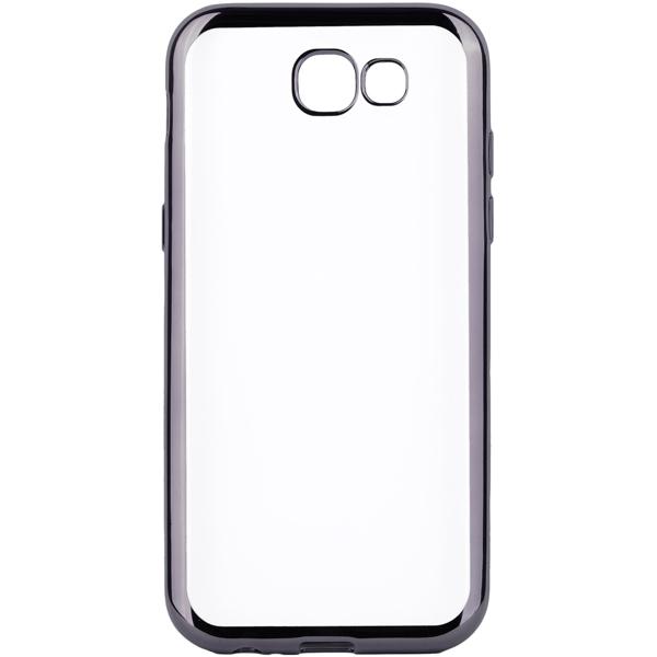Чехол для сотового телефона InterStep Frame для Samsung Galaxy J7 (2017) Black чехол для сотового телефона takeit для samsung galaxy a3 2017 metal slim металлик
