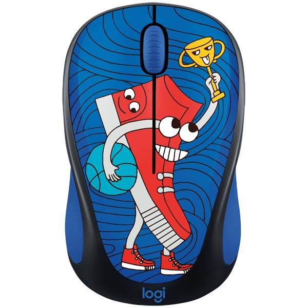 Мышь беспроводная Logitech M238 Sneaker Head (910-005050) logitech m238 luke lion 910 004475