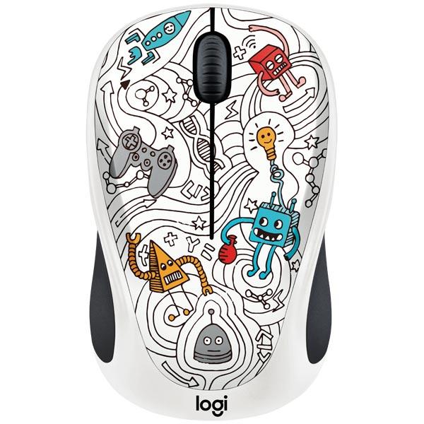 Мышь беспроводная Logitech M238 Techie White (910-005053) logitech m238 luke lion 910 004475