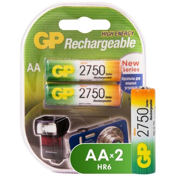 Аккумулятор GP АA (LR6) 2 шт. (275PROAAHC-2CR2) попона дождевик triol