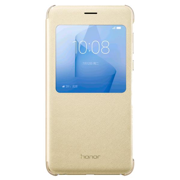 Чехол для сотового телефона Honor 8 View Cover Gold чехол для сотового телефона honor 5x smart cover grey