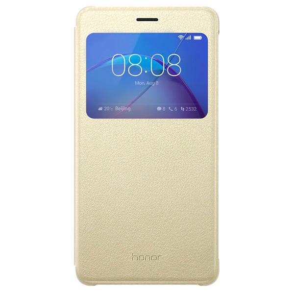 Чехол для сотового телефона Honor 6X Smart Cover Gold набор прецизионных напильников с ручкой 6 шт 152 мм truper lijo 6x 15240