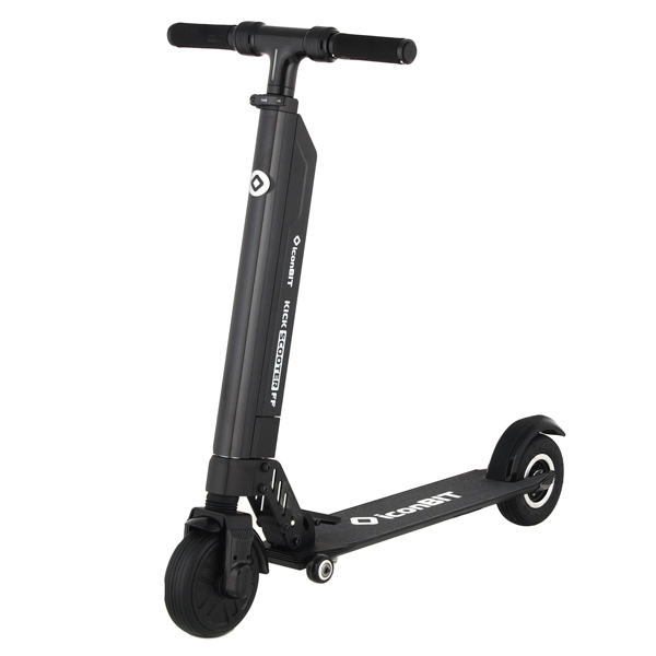 Электрический самокат iconBIT Kick Scooter FF (SD-0020K) leshp 200mm folding height adjustable foot scooter two rounds wheels outdoor double damping push adult kick scooter from russia