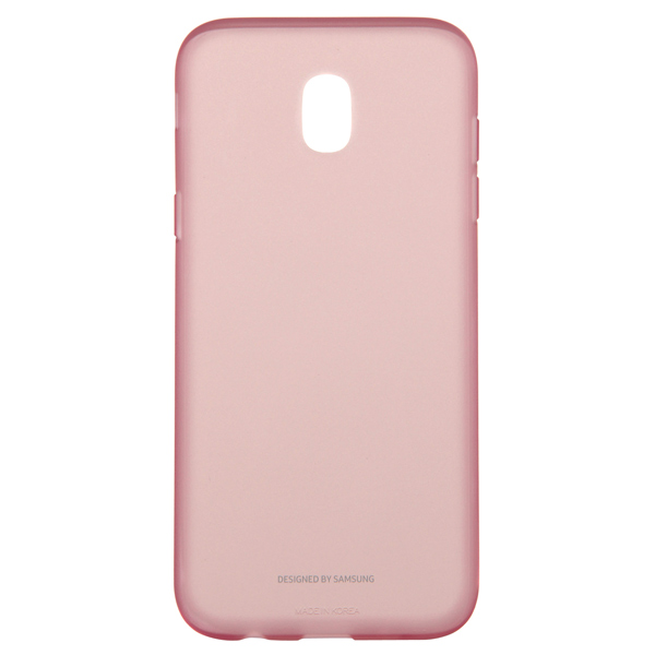 Чехол для сотового телефона Samsung Galaxy J5 (2017) Jelly Pink (EF-AJ530TPEGRU) чехол samsung ef pj530cpegru для samsung galaxy j5 2017 dual layer cover розовый