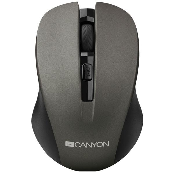 Мышь беспроводная Canyon CNE-CMSW1G внешний аккумулятор canyon cne cspb26go 2600мач золотистый