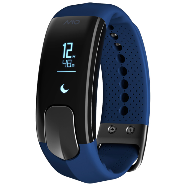 Фитнес-трекер Mio Slice Navy Small (60P-NAV-SMA) фитнес трекер mio fuse cobalt small medium цвет черный синий