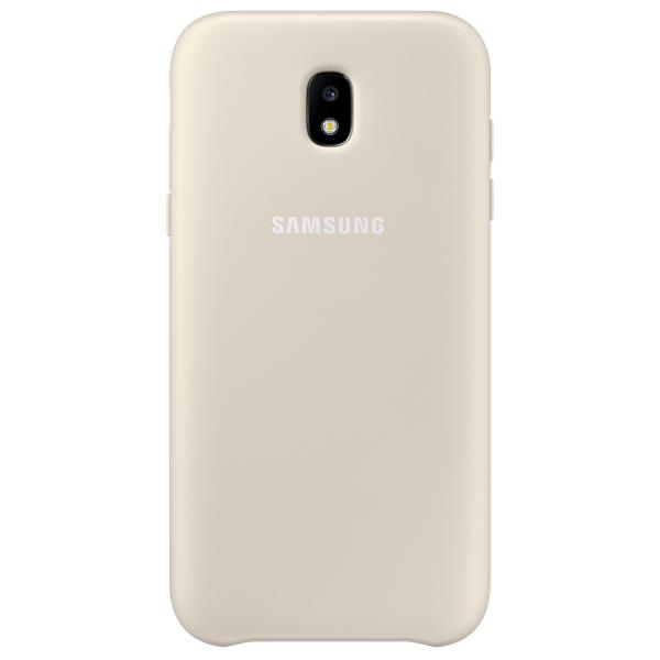 Чехол для сотового телефона Samsung Galaxy J5 (2017) Dual Layer Gold (EF-PJ530CFEGRU) чехол для samsung galaxy j5 2017 samsung dual layer cover ef pj530cfegru