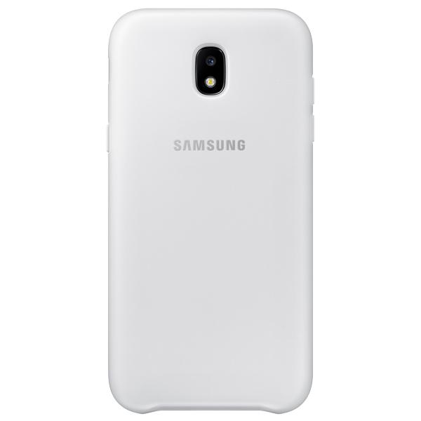 Чехол для сотового телефона Samsung Galaxy J5 (2017) Dual Layer White(EF-PJ530CWEGRU) чехол samsung ef pj530cpegru для samsung galaxy j5 2017 dual layer cover розовый