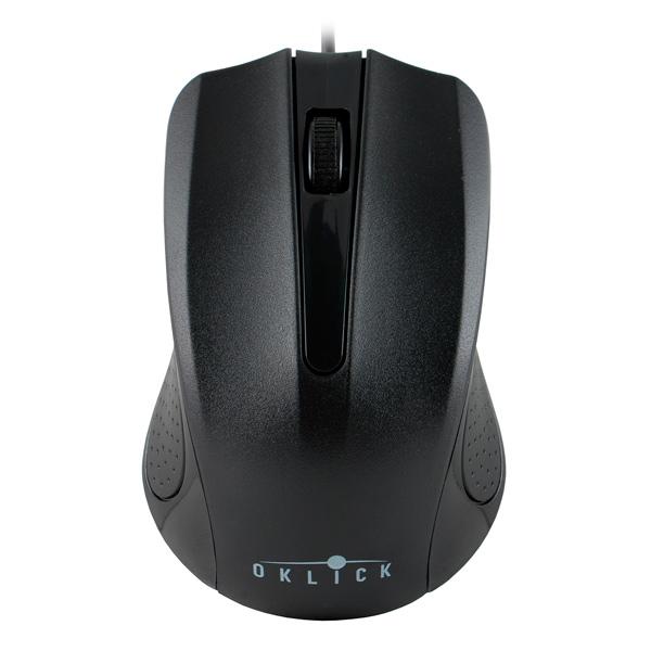 Мышь проводная Oklick — 225M Black