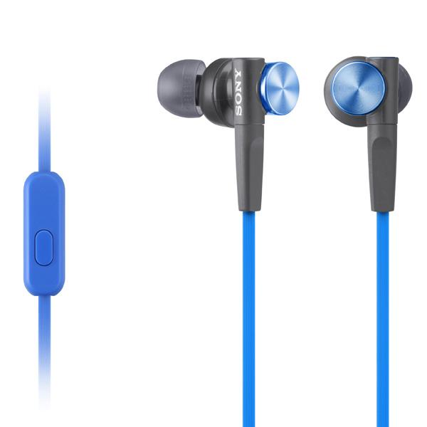 Наушники внутриканальные Sony XB50AP Extra Bass Blue (MDRXB50AP/LQ(CE7))