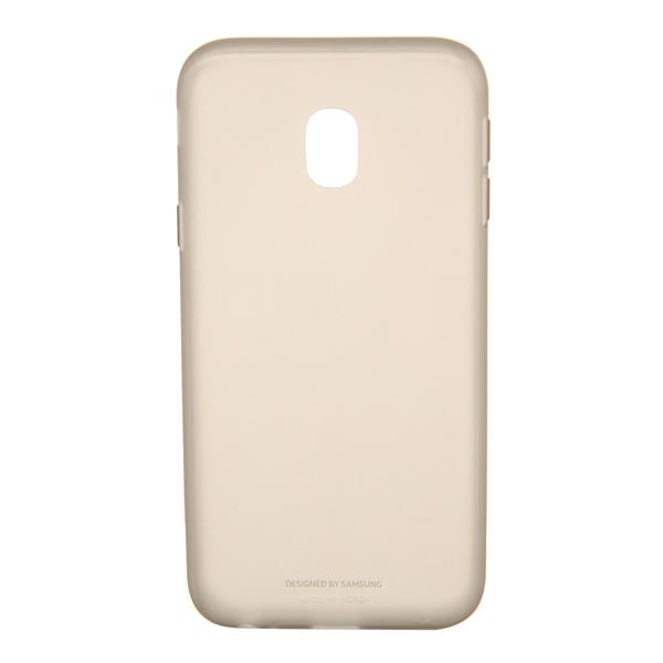 Чехол Samsung Galaxy J3 (2017) Jelly Gold (EF-AJ330TFEGRU) чехол для samsung galaxy j3 2017 samsung jelly cover ef aj330tlegru