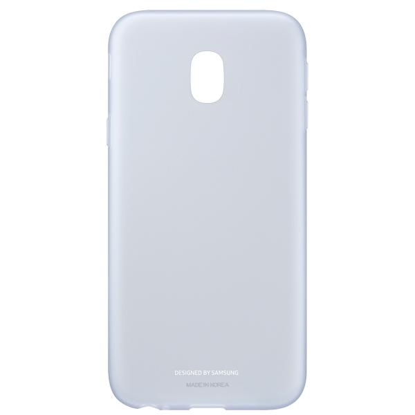 Чехол Samsung Galaxy J3 (2017) Jelly Blue (EF-AJ330TLEGRU) чехол для samsung galaxy j3 2017 samsung jelly cover ef aj330tlegru