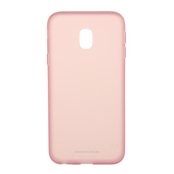 Чехол Samsung Galaxy J3 (2017) Jelly Pink (EF-AJ330TPEGRU) чехол для samsung galaxy j3 2017 samsung jelly cover ef aj330tlegru