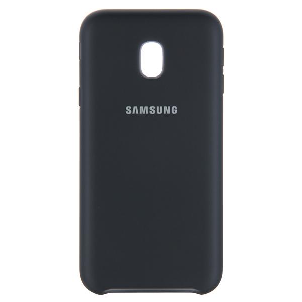 Чехол для сотового телефона Samsung Galaxy J3 (2017) Dual Layer Black(EF-PJ330CBEGRU) клип кейс ibox fresh для samsung galaxy s5 mini черный