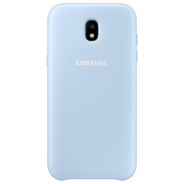 Чехол для сотового телефона Samsung Galaxy J3 (2017) Dual Layer Blue (EF-PJ330CLEGRU) чехол samsung ef pj530cpegru для samsung galaxy j5 2017 dual layer cover розовый