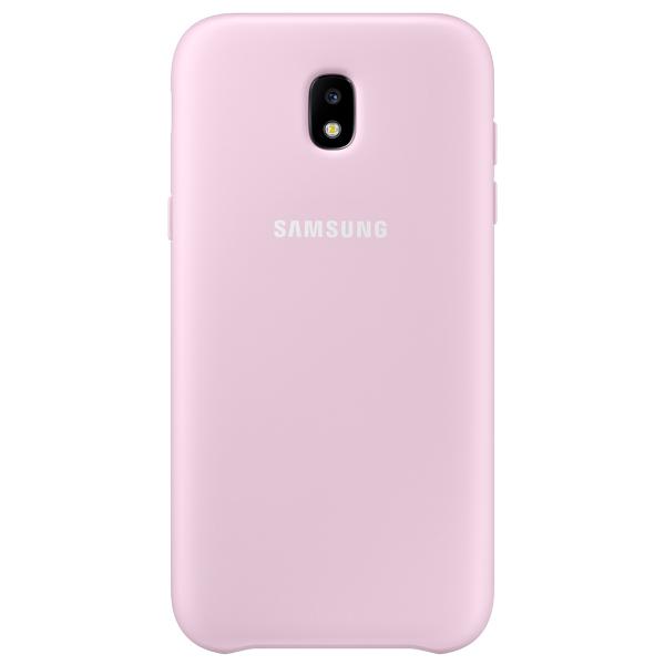 Чехол Samsung Galaxy J3 (2017) Dual Layer Pink (EF-PJ330CPEGRU) чехол для смартфона samsung galaxy j3 2017 dual layer cover розовый ef pj330cpegru ef pj330cpegru
