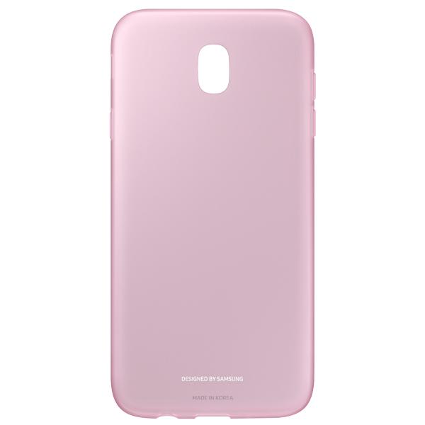 Чехол для сотового телефона Samsung Galaxy J7 (2017) Jelly Pink (EF-AJ730TPEGRU) чехол клип кейс samsung protective standing cover great для samsung galaxy note 8 темно синий [ef rn950cnegru]