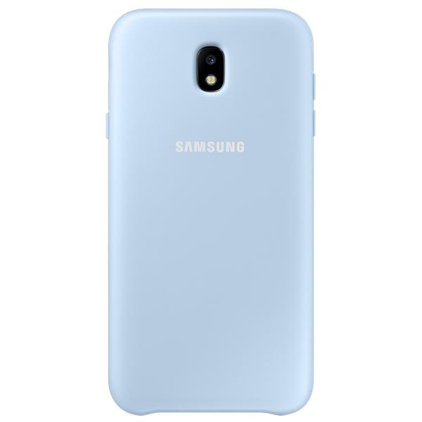 Чехол для сотового телефона Samsung Galaxy J7 (2017) Dual Layer Blue (EF-PJ730CLEGRU) euroline для samsung galaxy j7 2016 blue
