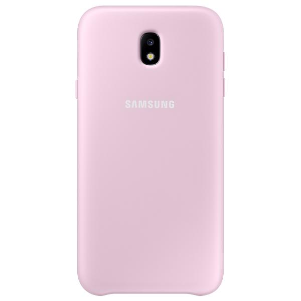 Чехол для сотового телефона Samsung Galaxy J7 (2017) Dual Layer Pink (EF-PJ730CPEGRU) чехол для сотового телефона samsung galaxy j5 2017 dual layer pink ef pj530cpegru