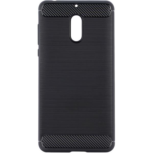 Чехол для сотового телефона InterStep Armore для Nokia 6 Black (HARNO00006KNP1101OK100) interstep для nokia black