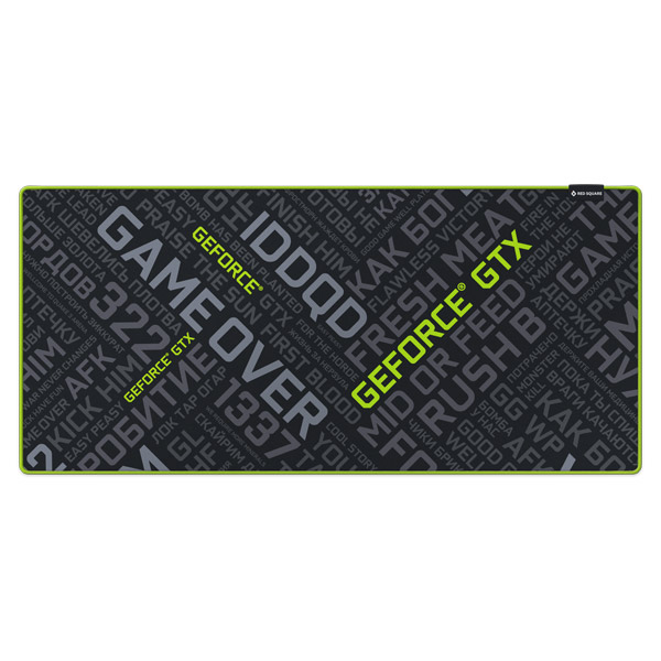 Игровой коврик Red Square Mat XXL - Nvidia Edition (RSQ-40005) клавиатура red square tesla tkl rgb rsq 20008