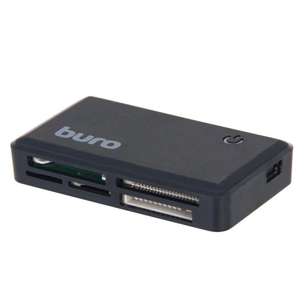 Устройство для чтения карт памяти Buro BU-CR-151 USB 2.0 (черный)