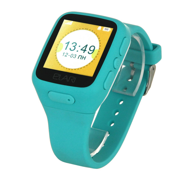 Часы с GPS трекером Elari KidPhone Blue (KP-1) умные часы elari fixitime 2 blue