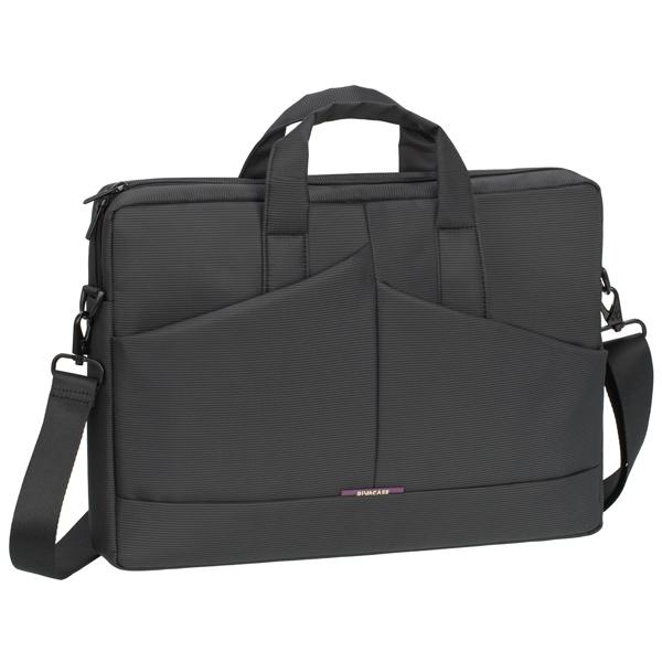 Кейс для ноутбука до 15 RIVACASE 8731 Grey 15,6 кейс для ноутбука до 15 rivacase 8991 pu black 15 6