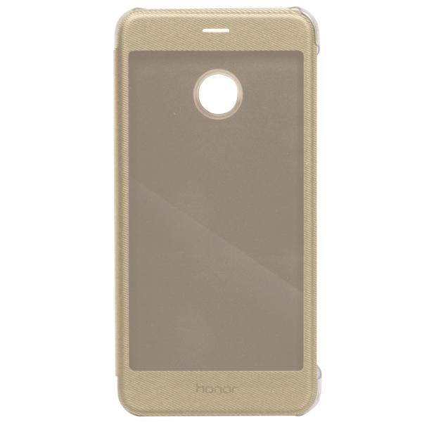 Чехол для сотового телефона Honor 8 Pro View Cover Gold (51991953) чехол для сотового телефона honor 5x smart cover grey