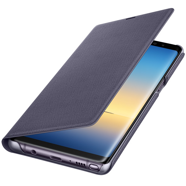 Чехол для сотового телефона Samsung Galaxy Note 8 LED View Violet (EF-NN950PVEGRU) клавиатура для samsung galaxy note 10 1