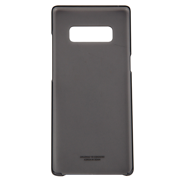 Чехол для сотового телефона Samsung Galaxy Note 8 Clear Cover Black (EF-QN950CBEGRU) чехол клип кейс samsung alcantara cover great для samsung galaxy note 8 хаки [ef xn950akegru]
