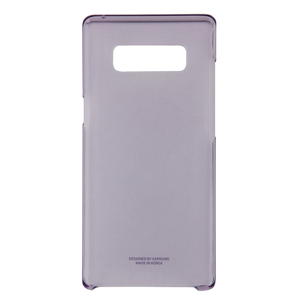 Чехол для сотового телефона Samsung Galaxy Note 8 Clear Cover Violet (EF-QN950CVEGRU) чехол клип кейс samsung alcantara cover great для samsung galaxy note 8 хаки [ef xn950akegru]