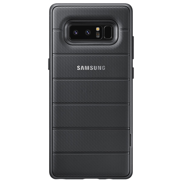 Чехол для сотового телефона Samsung Galaxy Note 8 Protective Standing Cover Black чехол клип кейс samsung alcantara cover great для samsung galaxy note 8 хаки [ef xn950akegru]