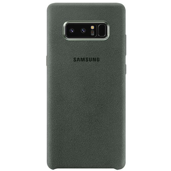 Чехол для сотового телефона Samsung Galaxy Note 8 Alcantara Khaki (EF-XN950AKEGRU) чехол клип кейс samsung clear cover great для samsung galaxy note 8 темно синий [ef qn950cnegru]