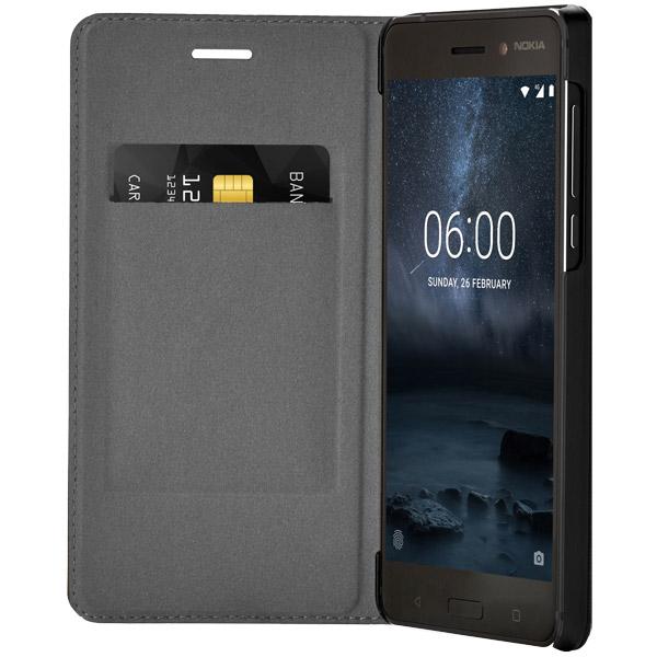 Чехол для сотового телефона Nokia 6 Black (СР-301) чехол флип кейс для смартфона explay flame hot кожа черный