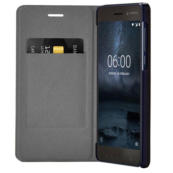 Чехол для сотового телефона Nokia 6 Blue (СР-301) чехол для сотового телефона nokia 5 blue ср 302