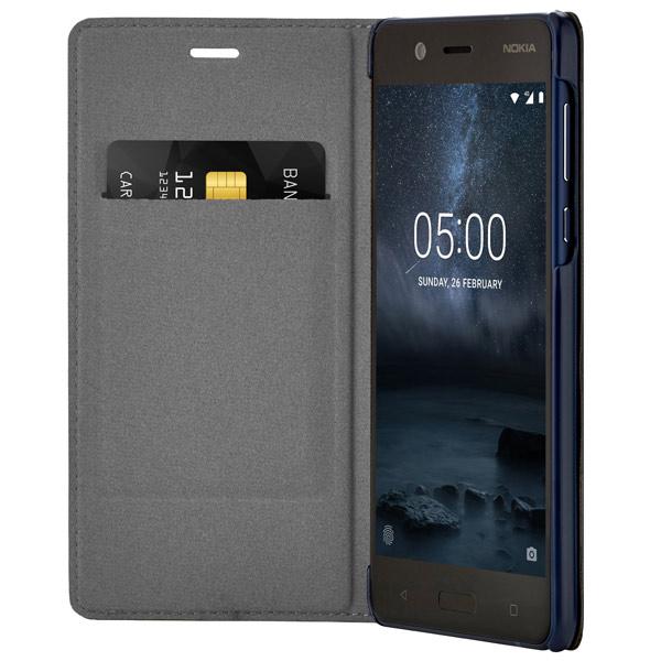 Чехол для сотового телефона Nokia 5 Blue (СР-302) nokia x3 в рассрочку
