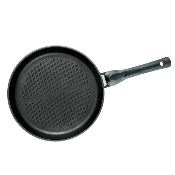 Сковорода гриль НМП Ферра Индукция 26см (54026) сковорода нмп европейская 26см 502601е