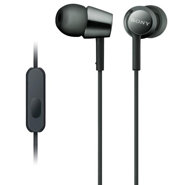 Наушники внутриканальные Sony MDR-EX155AP Black