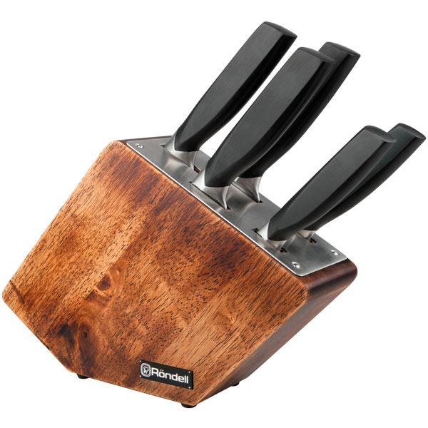 Набор кухонных ножей Rondell Lincor RD-482 набор кухонных ножей hoffburg 6 предметов hb 60100