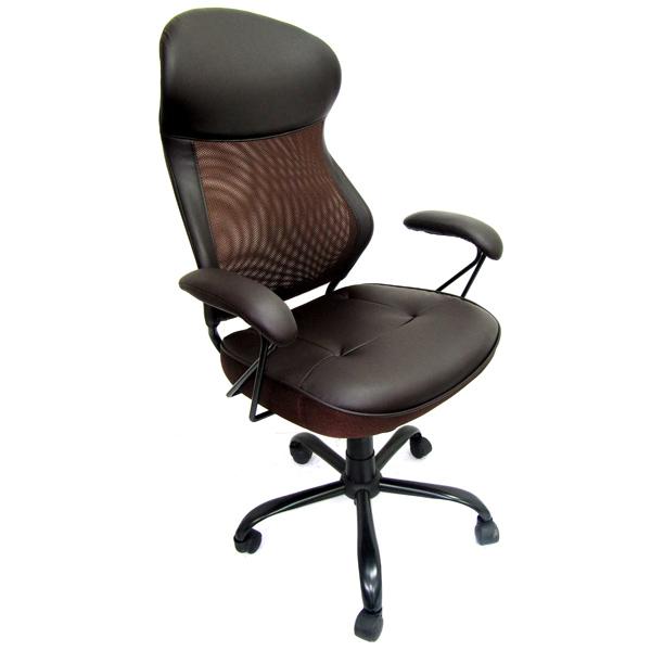Кресло компьютерное College HLC-0370 Brown сиденья водительское для ваз 2112