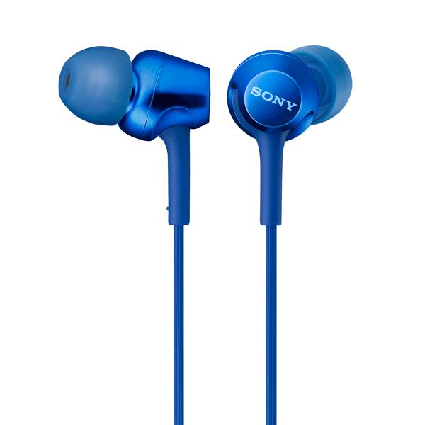 Наушники внутриканальные Sony MDR-EX255AP Blue