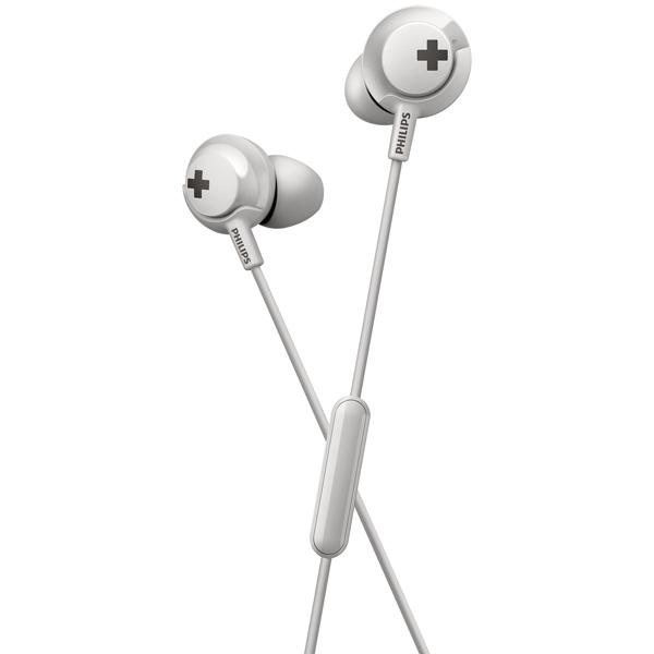 Наушники внутриканальные Philips — Bass+ SHE4305 White