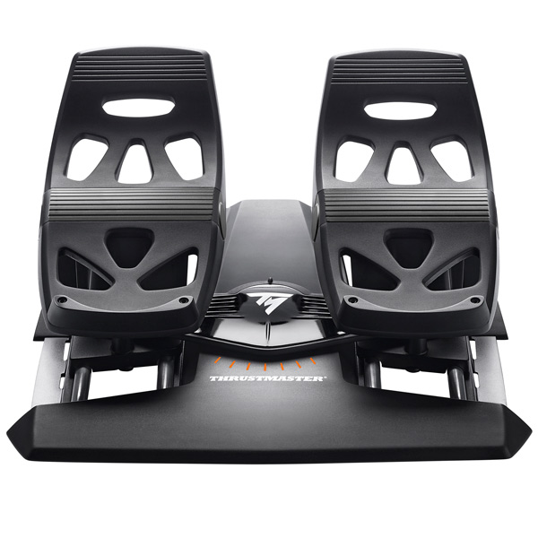 Джойстик Thrustmaster T.Flight Rudder Pedals (2960764) дополнительные авиа педали thrustmaster tfrp rudder pc ps3 ps4 2960764